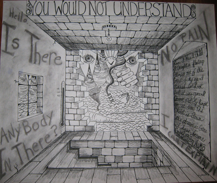 A Drawing From High School About Pink Floyds Comfortably Numb You Would Not Understand Really