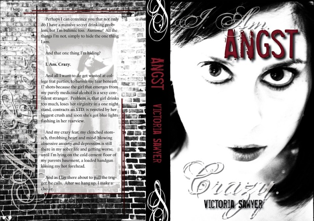 Angst - Victoria Sawyer - Createspace Cover 2013