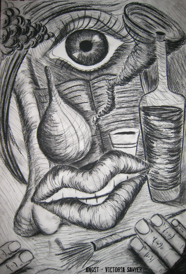 Angst Art - Victoria Sawyer