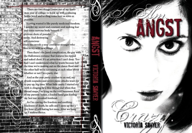 "My KICKASS cover with text within .25"" of the edge.  OH MY!!!"
