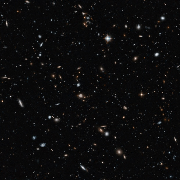 Photo of galaxies in space