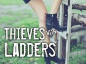 Thieves with Ladders/Girl climbs ladder