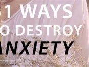 51 ways to destroy anxiety. Wonder Forest Photo: Lauren McKinnon