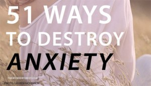 51 ways to destroy anxiety. Wonder Forest Photo: Lauren McKinnon