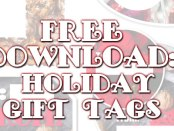 Free Download: Holiday Gift Tags