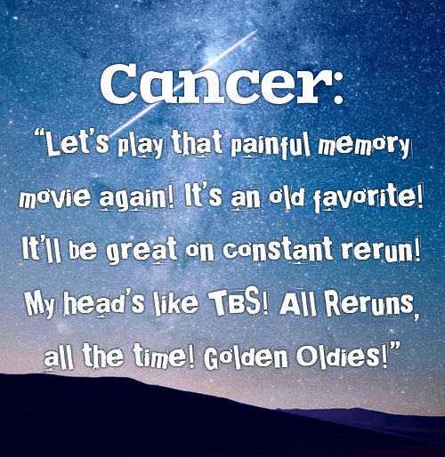 Cancer Zodiac; photo of sky/stars