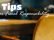 3 Tips for Fiscal Responsibility: Photo Desk and leather chair